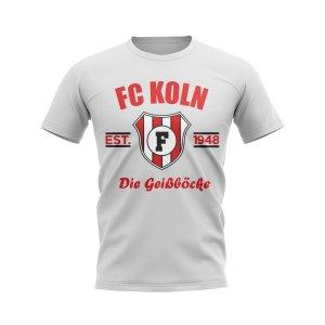 FC Koln Established Football T-Shirt (White)
