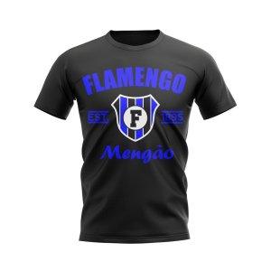 Flamengo Established Football T-Shirt (Black)