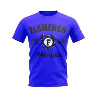Flamengo Established Football T-Shirt (Blue)