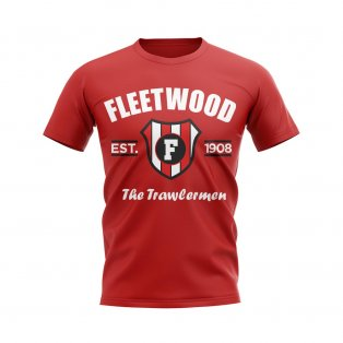 Fleetwood Established Football T-Shirt (Red)