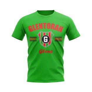 Glentoran Established Football T-Shirt (Green)