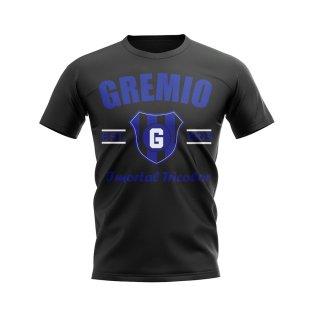 Gremio Established Football T-Shirt (Black)