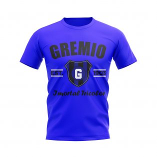 Gremio Established Football T-Shirt (Blue)