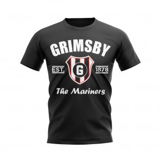 Grimsby Established Football T-Shirt (Black)