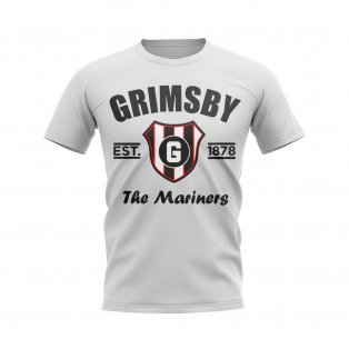 Grimsby Established Football T-Shirt (White)