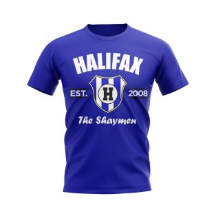Halifax Established Football T-Shirt (Blue)