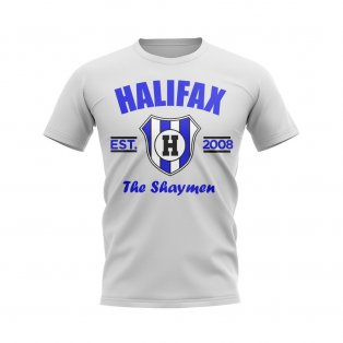 Halifax Established Football T-Shirt (White)