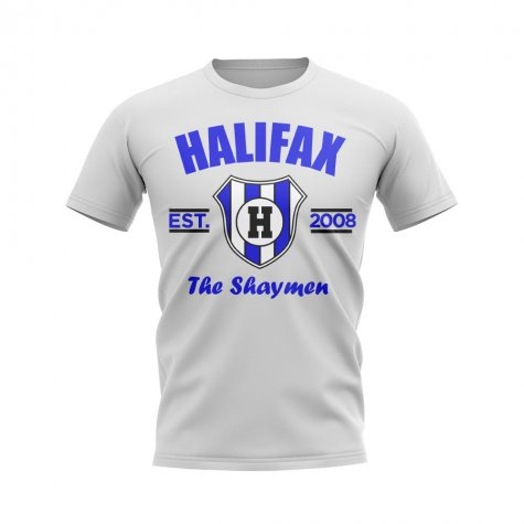 Halifax Established Football T-Shirt (White)