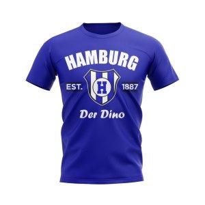 Hamburg Established Football T-Shirt (Blue)