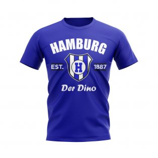 Hamburg Established Football T-Shirt (Blue)