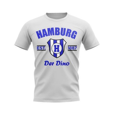 Hamburg Established Football T-Shirt (White)