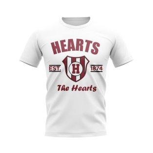 Hearts Established Football T-Shirt (White)