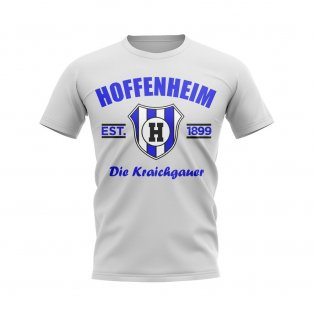 Hoffenheim Established Football T-Shirt (White)