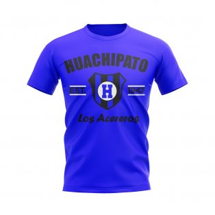 Huachipato Established Football T-Shirt (Blue)