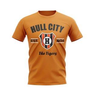 Hull City Established Football T-Shirt (Orange)