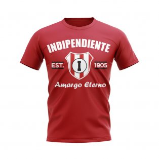 Independiente Established Football T-Shirt (Red)