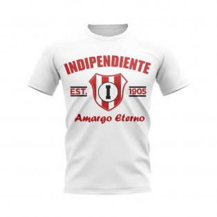 Independiente Established Football T-Shirt (White)