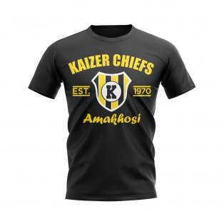 Kaizer Chiefs Established Football T-Shirt (Black)