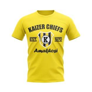 Kaizer Chiefs Established Football T-Shirt (Yellow)