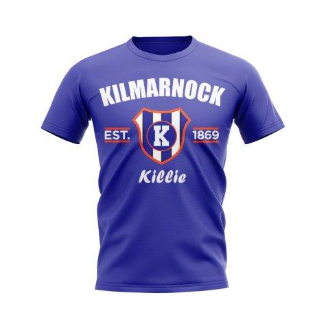 Kilmarnock Established Football T-Shirt (Blue)