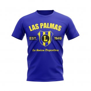 Las Palmas Established Football T-Shirt (Blue)