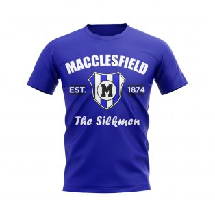 Macclesfield Established Football T-Shirt (Blue)