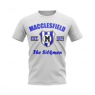 Macclesfield Established Football T-Shirt (White)