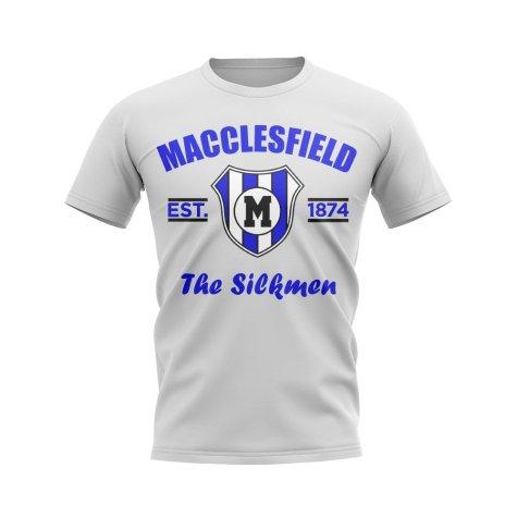Macclesfield Established Football T-Shirt (White)