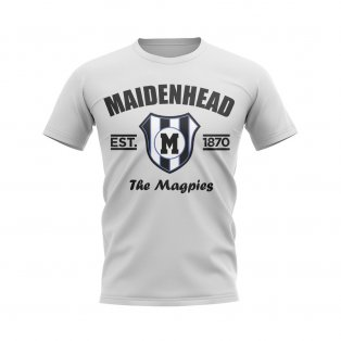 Maidenhead Established Football T-Shirt (White)