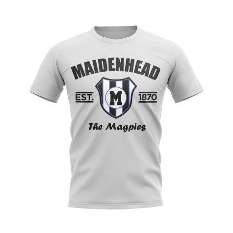 Maidenhead Established Football T-Shirt (White)