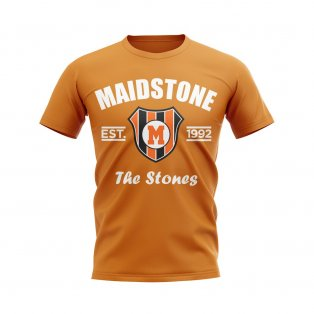 Maidstone Established Football T-Shirt (Orange)