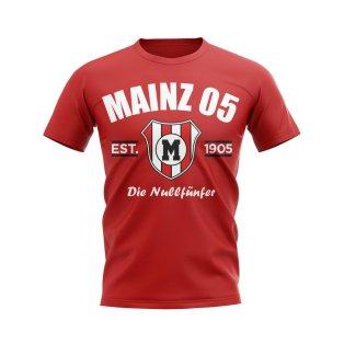 Mainz 05 Established Football T-Shirt (Red)
