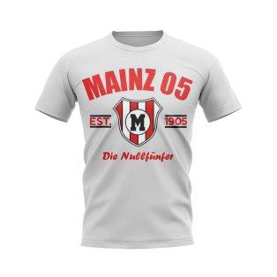Mainz 05 Established Football T-Shirt (White)