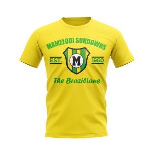 Mamelodi Established Football T-Shirt (Yellow)