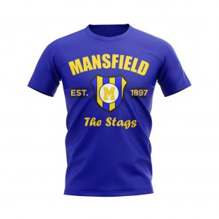 Mansfield Established Football T-Shirt (Blue)