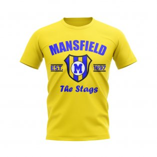 Mansfield Established Football T-Shirt (Yellow)