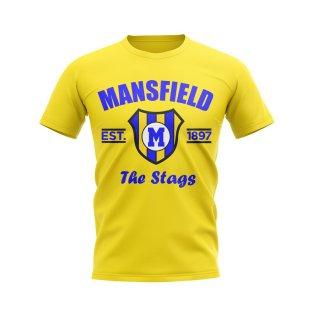 Mansfield Established Football T-Shirt (Yellow)