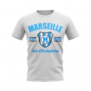 Marseille Established Football T-Shirt (White)