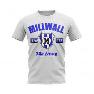 Millwall Established Football T-Shirt (White)