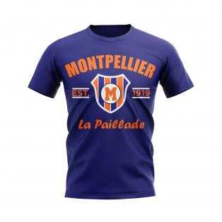 Montpellier Established Football T-Shirt (Navy)