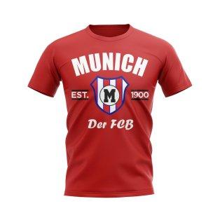 Bayern Munich Established Football T-Shirt (Red)