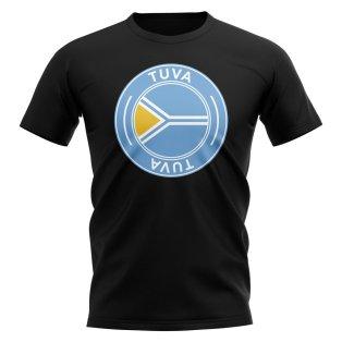 Tuva Football Badge T-Shirt (Black)