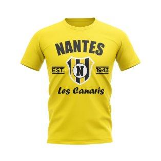 Nantes Established Football T-Shirt (Yellow)