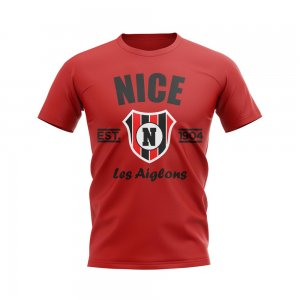 Nice Established Football T-Shirt (Red)
