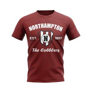 Northampton Established Football T-Shirt (Maroon)