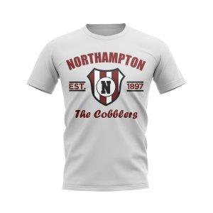 Northampton Established Football T-Shirt (White)