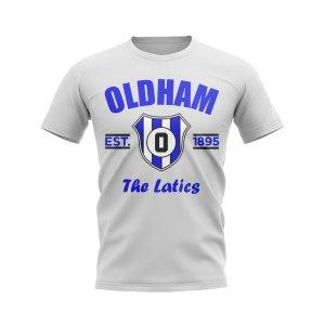 Oldham Established Football T-Shirt (White)