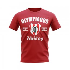 Olympiacos Established Football T-Shirt (Red)