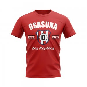 Osasuna Established Football T-Shirt (Red)
