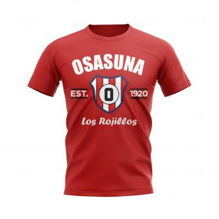 Osasuna Established Football T-Shirt (Red)